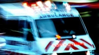 A man in his 20s has been rushed to hospital after suffering multiple stab wounds at a Sydney construction site.