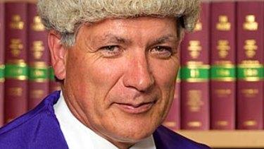 County Court judge Michael McInerney.