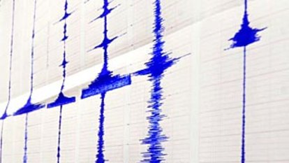 Underwater quake shakes west Indonesia