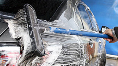 No fines for people in shops, as car wash penalty revoked