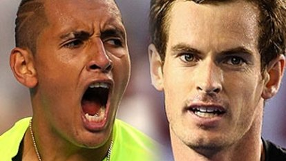 Kyrgios swipes Djokovic with Murray in late-night live chat