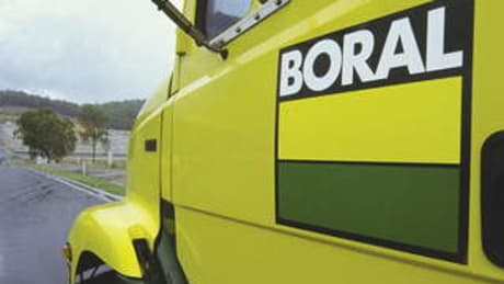 Boral logo.