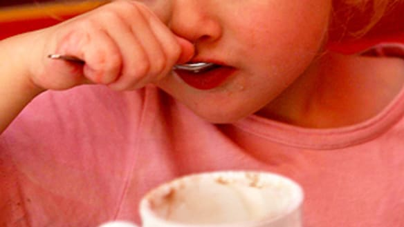 Memo to spoilt-brat adults who can't abide toddlers in cafes