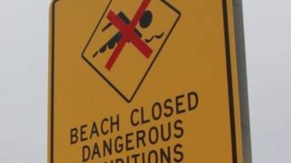 Wild weather closes Sunshine Coast beaches