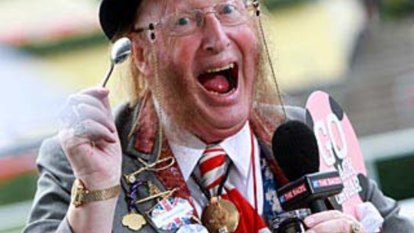 Madcap McCririck was the product of a bygone era