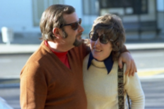 John and wife Sally in June, 1973.