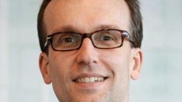 James Dolton, CFO of NSW Land Registry Services.