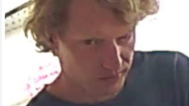 The most recent image of Niels Becker, who is missing in the high country near Mount Bulla.