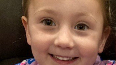 Police are searching for four-year-old Chloe Smith, last seen at a campsite 50km north of Carnarvon.