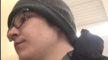 Jackson Racicot, 17, announced his resignation from Walmart in a way many disgruntled employees could only dream of.