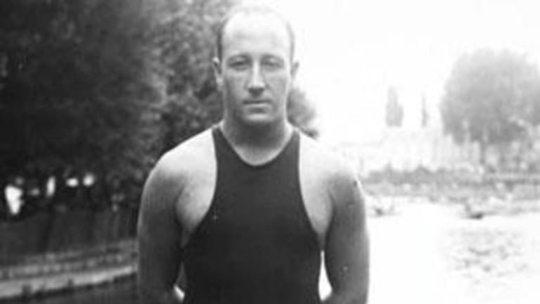 Tragic loss: Cecil Healy remains the only Australian Olympic champion to die in the theatre of war.