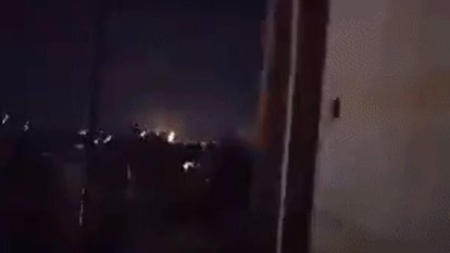 Israeli air strikes hit suspected Iranian weapons depots in Aleppo, Syria
