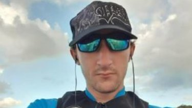 Chris Dicker, 28, was last seen going for a paddle in Tallebudgera Creek around 7am Sunday