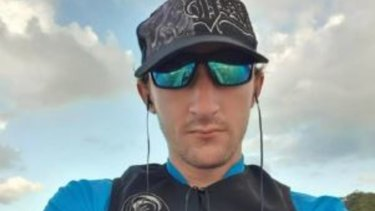 Chris Dicker, 28, was last seen going for a paddle in Tallebudgera Creek about 7am.