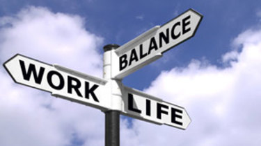 "Try to balance work and leisure but let's drop this phrase ""work life"" balance."