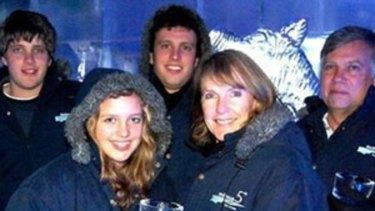 The van Breda family.