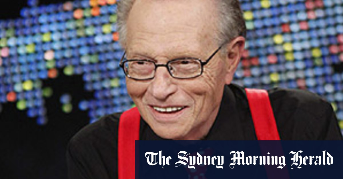 Legendary American talk show host Larry King dead at 87 – Sydney Morning Herald