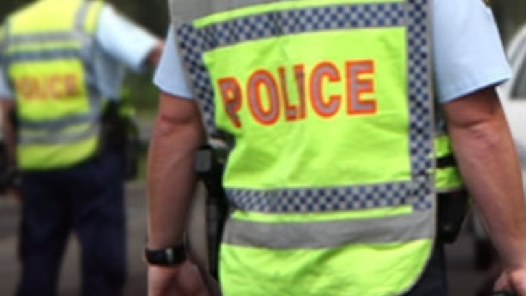 A man has been arrested by police on a house roof in East Victoria Park