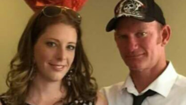 Biannca Edmunds (left) has been committed to stand trial for murder, with prosecutors alleging  she directed, encouraged or assisted her husband, Glen Cassidy, (right) to kill her ex-partner.