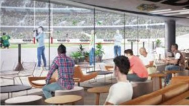 A field level bar is another idea for a revamped Gabba.