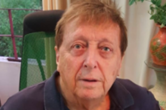 Dr Peter Harris, 78, was arrested on Tuesday night at Melbourne Airport.