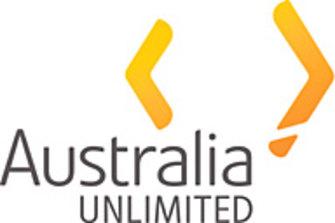 The Australia Unlimited logo.