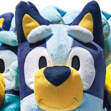 """Bluey offers a """"perfect"""" illustration of good play for three- to six-year-olds, according to experts."""