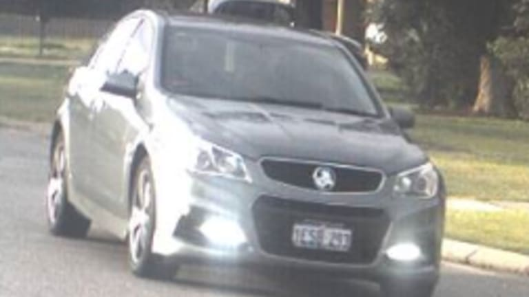 The car which was stolen.