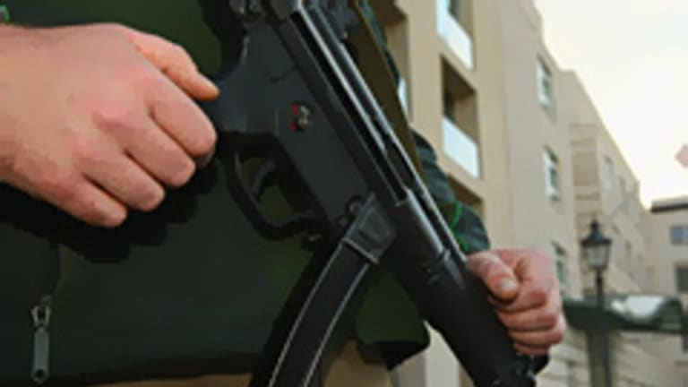 The 52-year-old is accused of making a submachine gun.