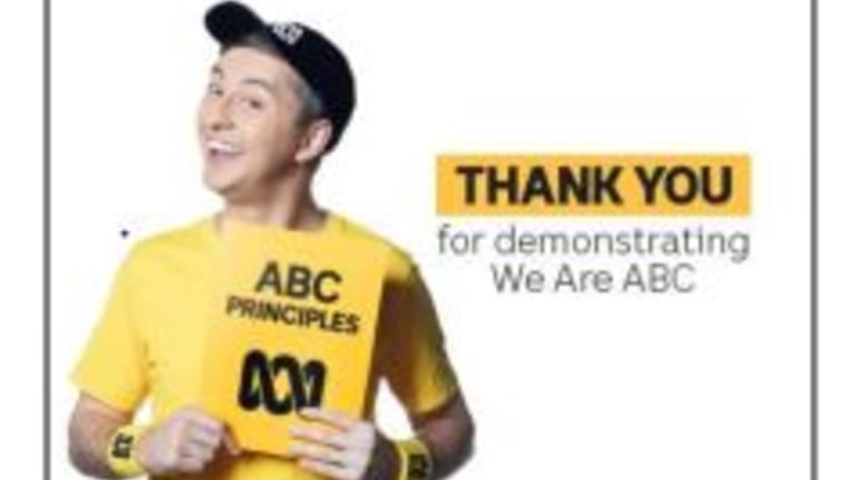 Larry convinced ABC staff that Michelle Guthrie did not understand their culture.
