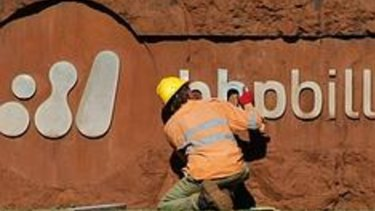 Many deceased estates would include shares in BHP Billiton.