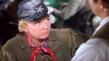 Doris Day in the 1953 film Calamity Jane.