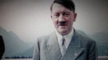Hitler relaxes.