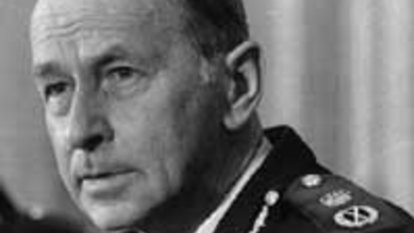 'A true pioneer in policing': Loved chief commissioner dies