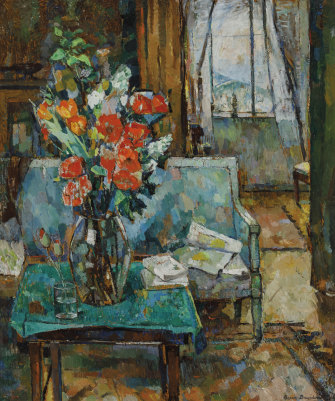 Interior of Bessie Davidson (1935) sold for $ 662,727 in April of this year.