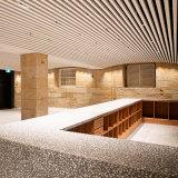 The new glamorous camouflage area on the ground floor features Australian terrazzo.