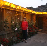Elizabeth Maher used Airtasker to put up her Christmas lights.