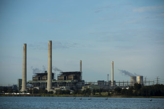 The Liddell and Bayswater coal power stations near Muswellbrook in the Hunter Valley.