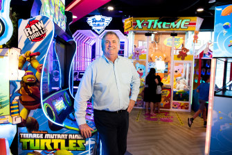 Scott Blume, the managing director of TEEG, the operator of Timezone and Kingpin bowling
