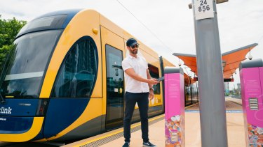 Stage three of the Gold Coast light rail has suffered a budget blow out an d construction delays.