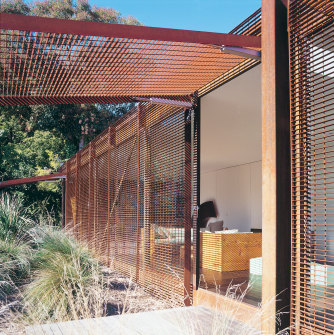 Architect Sean Godsell's Kew House.