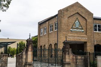 Trinity Grammar School at Summer Hill.