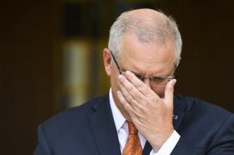 Australian Prime Minister Scott Morrison on Sunday.