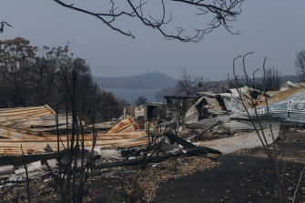Bushfires have destroyed more than 1800 homes in NSW this fire season.
