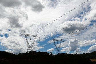 Transmission lines streaming from Snowy Hydro's Tumut 3 power station. New bilateral deal opens the way for Snowy's new pumped hydro energy to be exported to Victoria.