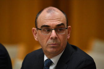 Australian Prudential Regulation Authority chairman Wayne Byres.
