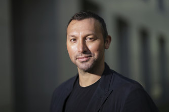 Ian Thorpe pictured this year.