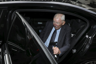 The court heard Sir Ron intends to plead not guilty to the charges.
