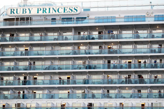 The Ruby Princess cruise ship was the source of hundreds of Australian COVID-19 cases.