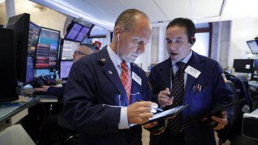 Wall Street fell broadly to start the week.